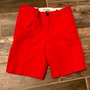 RED ABERCROMBIE KIDS SHORTS